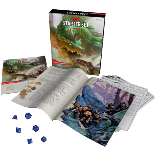 Starter Set - Dungeons and Dragons-Yarrawonga Fun and Games