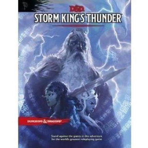 Storm Kings Thunder Book - Dungeons and Dragons-Yarrawonga Fun and Games