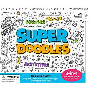 Super Doodles Set-Yarrawonga Fun and Games