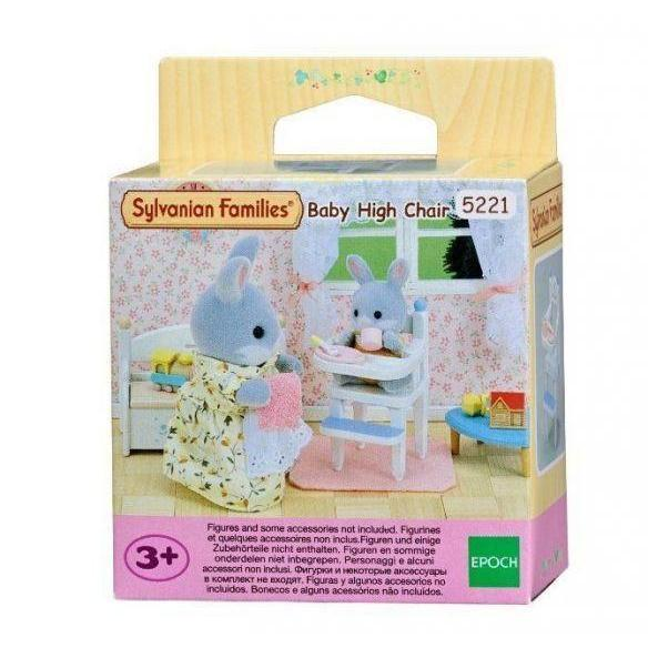 Sylvanian Families - Baby High Chair-Yarrawonga Fun and Games