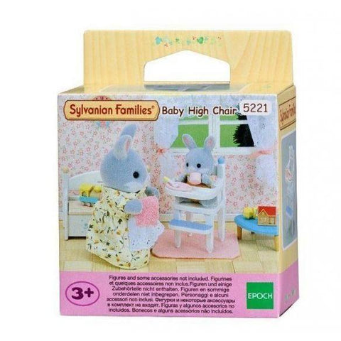 Sylvanian Families - Baby High Chair-Yarrawonga Fun and Games.