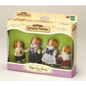 Sylvanian Families - Chiffon Dog Family-Yarrawonga Fun and Games