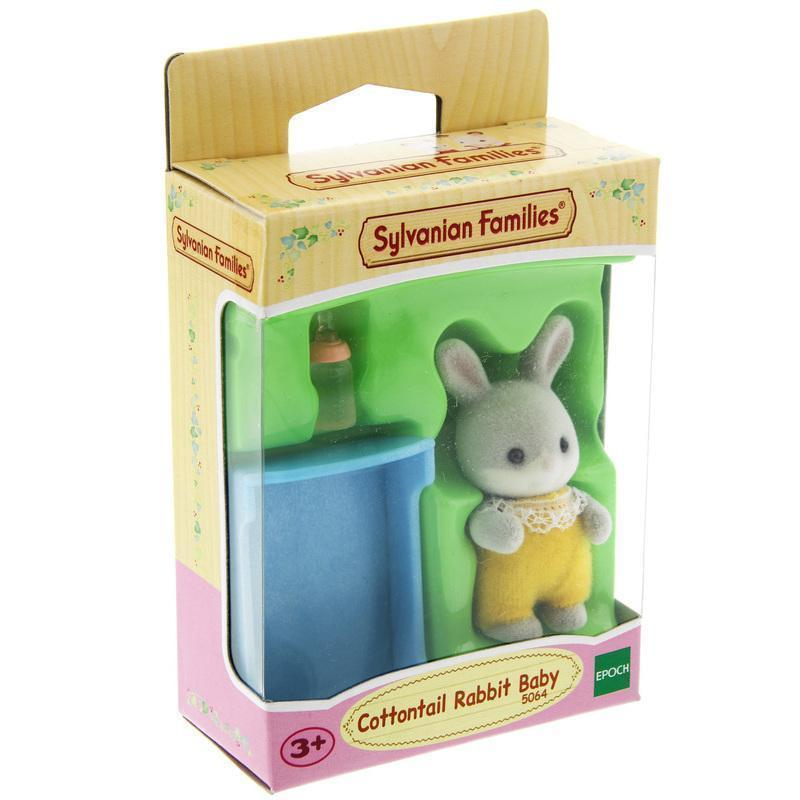 Sylvanian Families - Cottontail Rabbit Baby-Yarrawonga Fun and Games