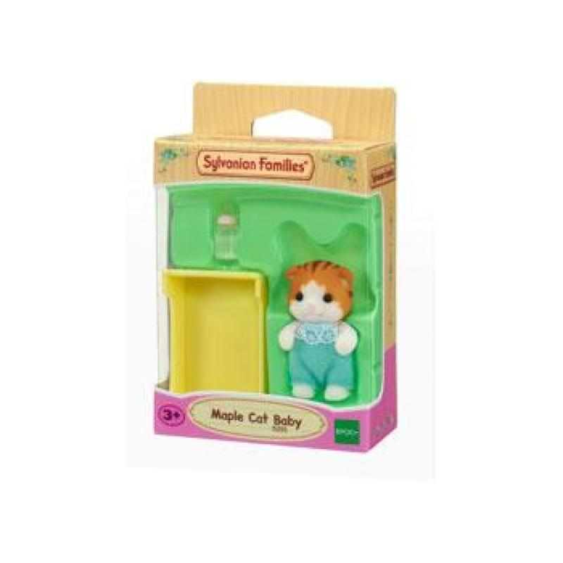 Sylvanian Families - Maple Cat Baby-Yarrawonga Fun and Games
