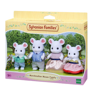 Sylvanian Families - Marshmallow Mouse Family-Yarrawonga Fun and Games