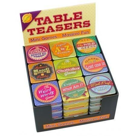 Table Teasers Games-Random Choice-Yarrawonga Fun and Games