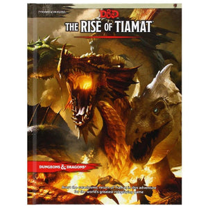 The Rise of Tiamat Adventure Book - Dungeons and Dragons-Yarrawonga Fun and Games
