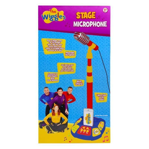 The Wiggles Stage Microphone-Yarrawonga Fun and Games