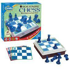 Thinkfun Solitaire Chess Puzzle-Yarrawonga Fun and Games
