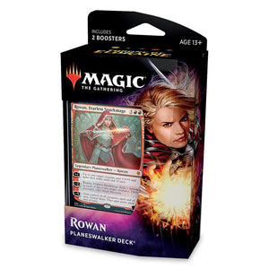 Throne of Eldraine Planeswalker Deck - Rowan, Fearless Sparkmage-Yarrawonga Fun and Games