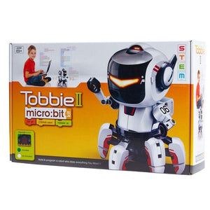 Tobbie the Robot II - Microbit Included-Yarrawonga Fun and Games