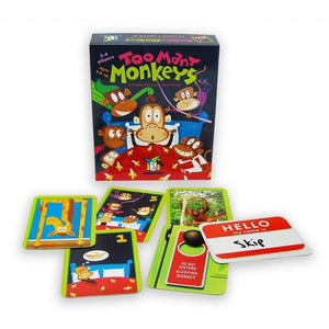 Too Many Monkeys - Card Game-Yarrawonga Fun and Games