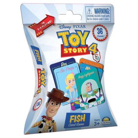 Toy Story 4 - Fish Card Game-Yarrawonga Fun and Games