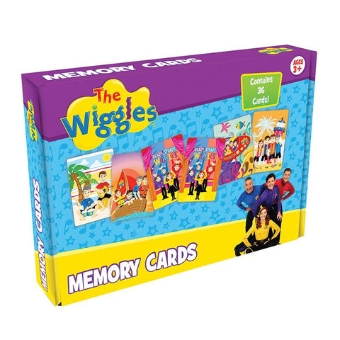 Wiggles Memory Cards-Yarrawonga Fun and Games.