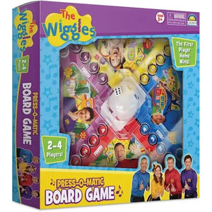 Wiggles Press-O-Matic Game-Yarrawonga Fun and Games