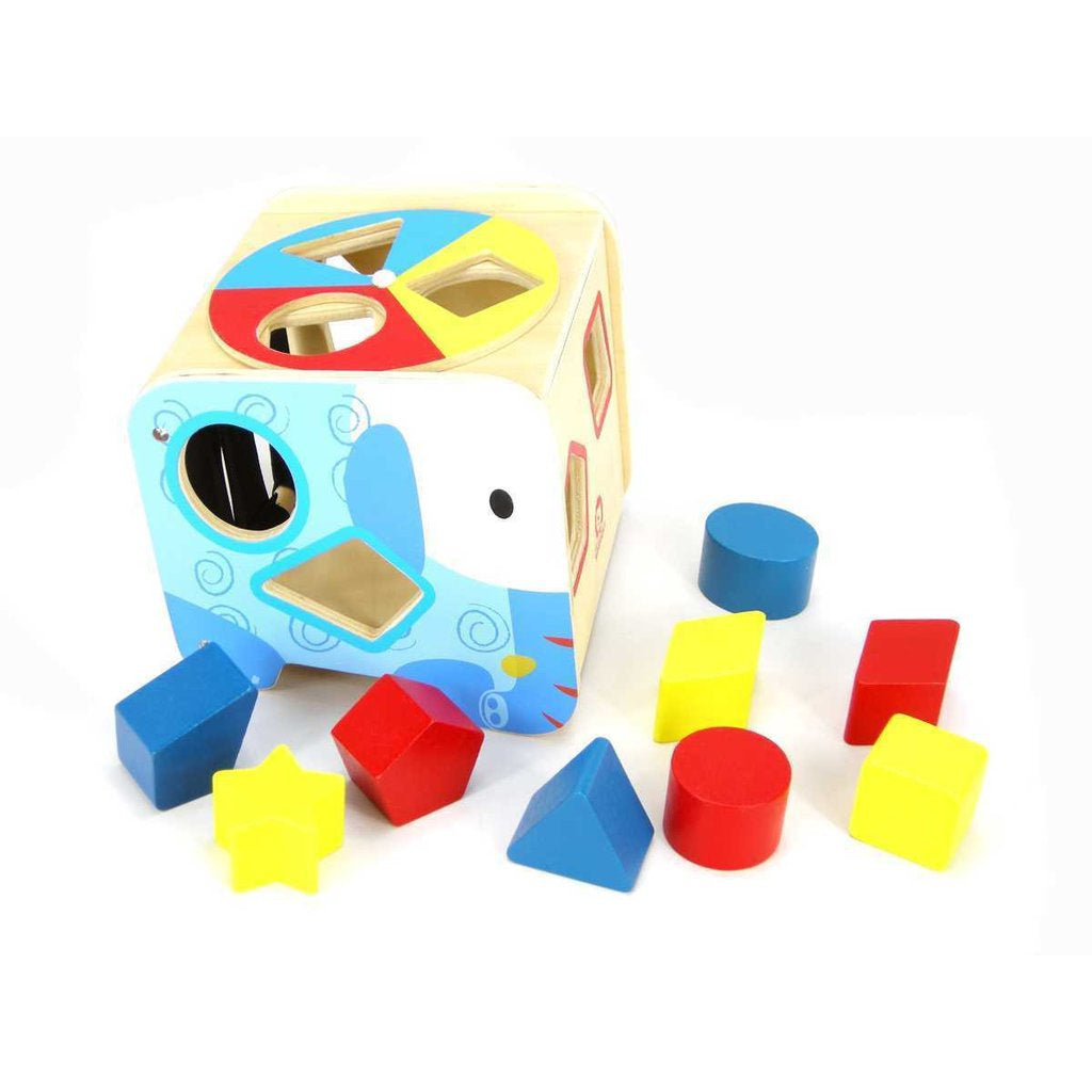 Wooden Shape Sorter-Yarrawonga Fun and Games