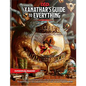 Xanathar's Guide to Everything Book - Dungeons and Dragons-Yarrawonga Fun and Games.