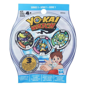 Yo Kai Watch - Medals - Series 1 3 Pack-Yarrawonga Fun and Games