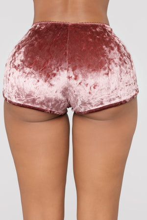 Velours Shorts Pyjama Ensemble auFeminin