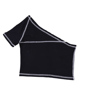 Sport Tape Crop Tank Top