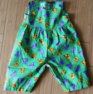 Emeraldine Sparkle Toddler Jumpsuit