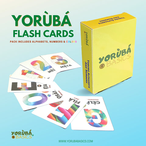 Yoruba Flash Cards for Juniors and Kids