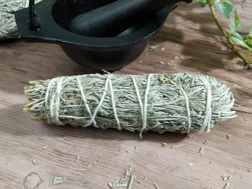Mountain Sage & Palo Santo Wood Powder Smudge Stick/Bundle