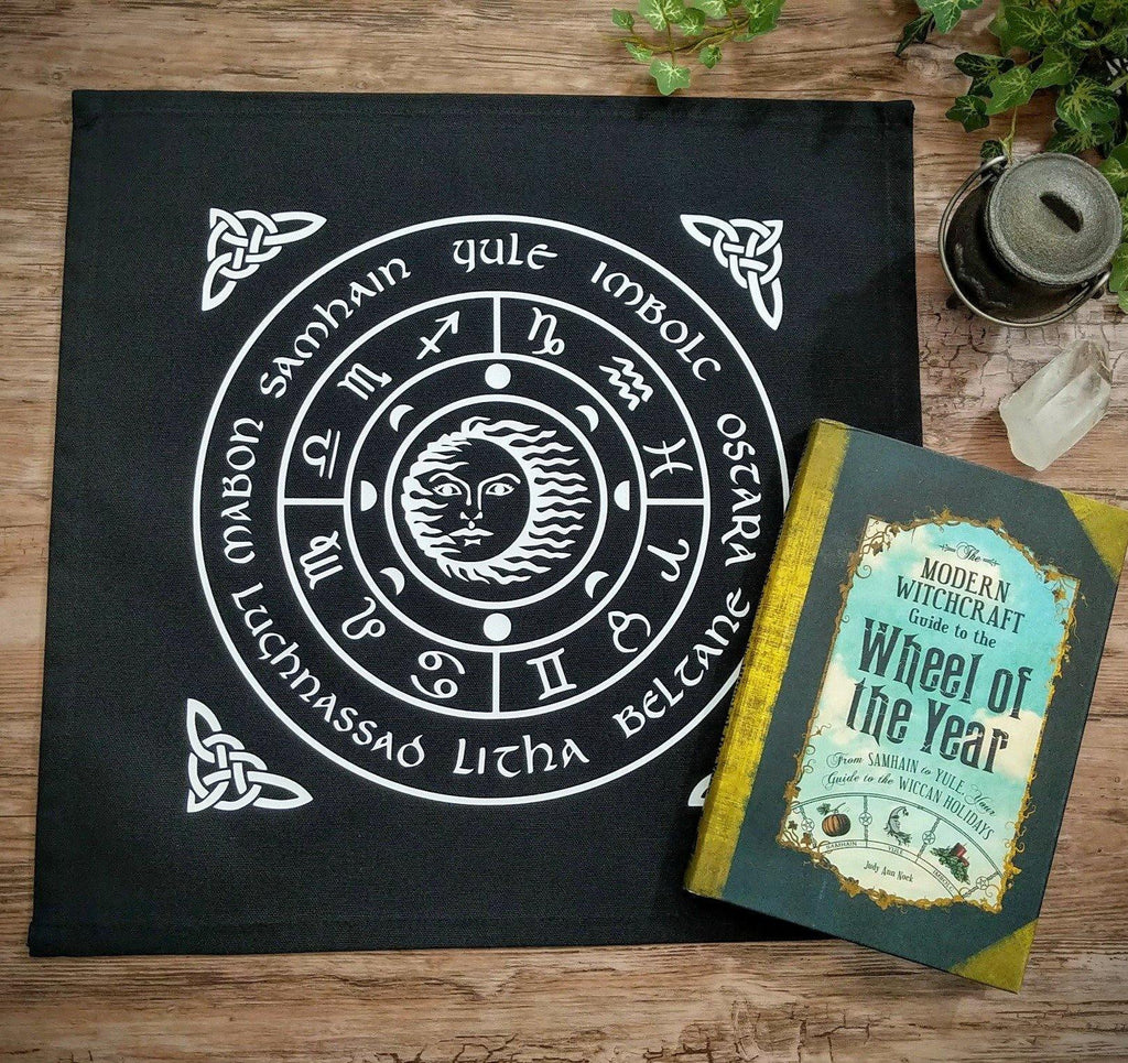 Wheel of the Year Altar Cloth - The Spirit Den