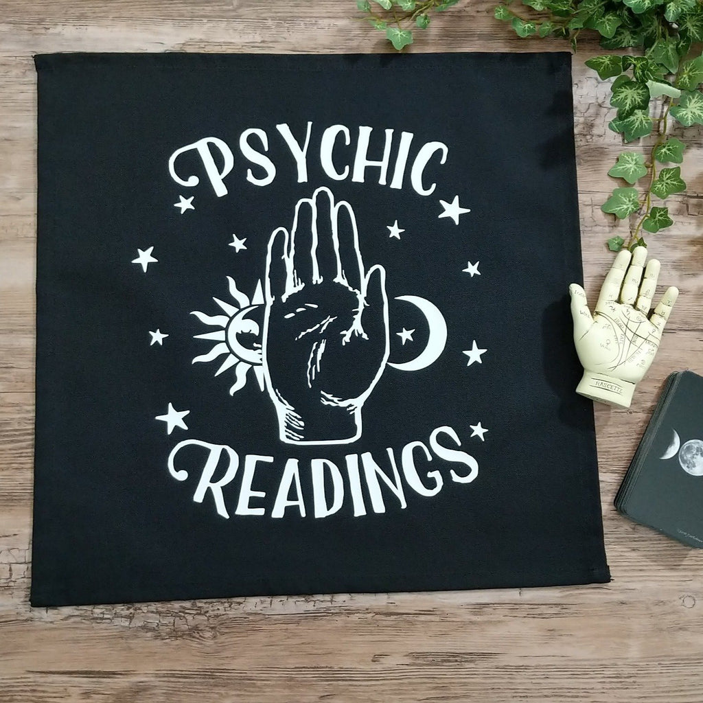 Psychic Readings Hand Altar Cloth