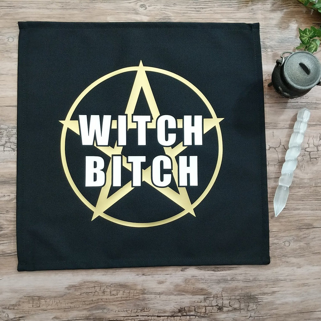 Witch Bitch Altar Cloth