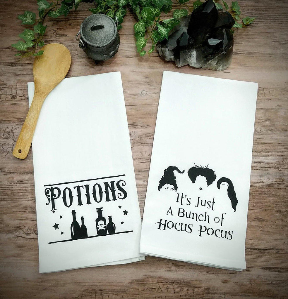 Potions Flour Sack Towel