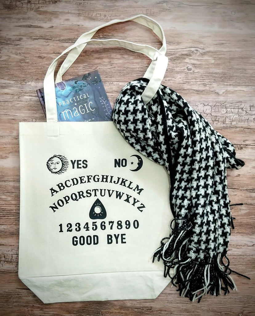 Spirit Board Cotton Canvas Market Bag