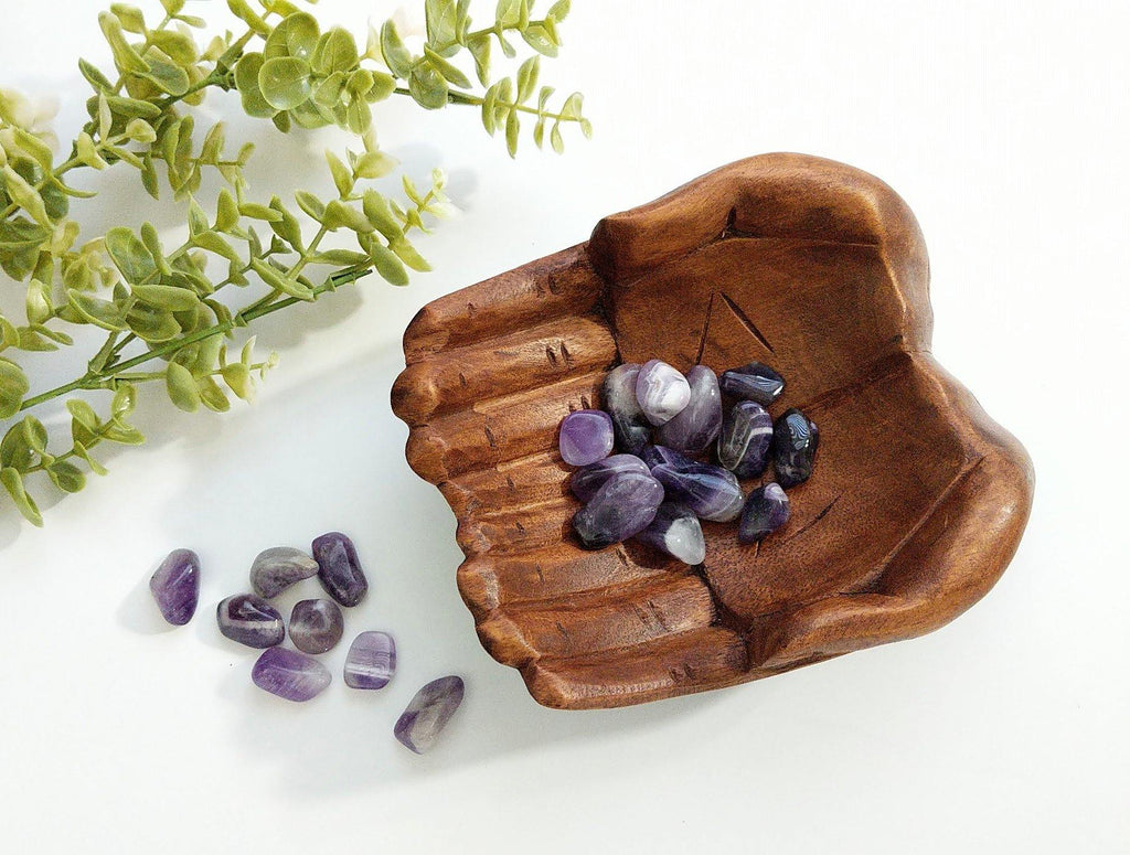 Giving Hands of Hope Wooden Altar Bowl