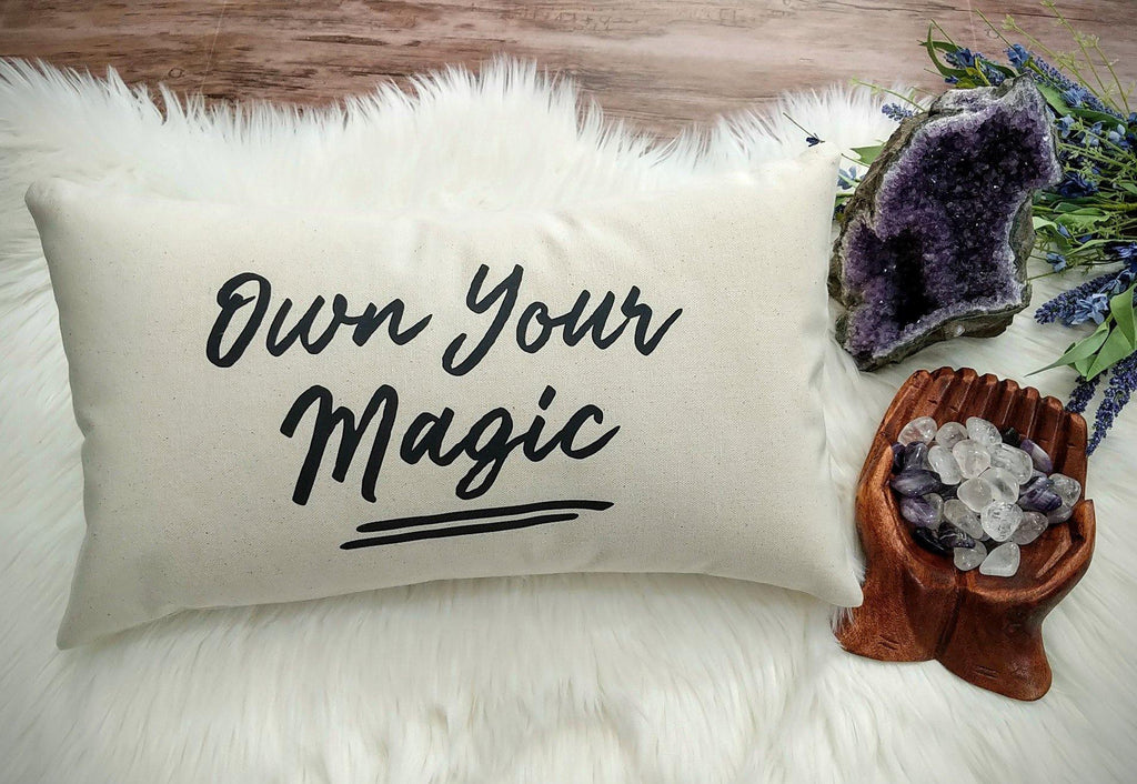 Own Your Magic Lumbar Pillow