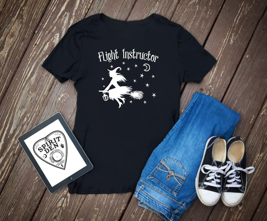 Flight Instructor Witch T-Shirt