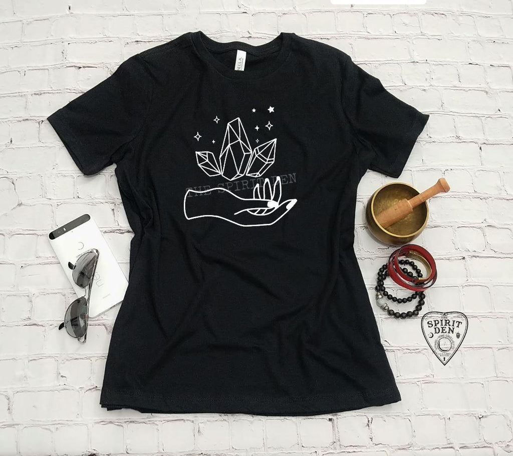 Holding Magic - Crystals T-Shirt