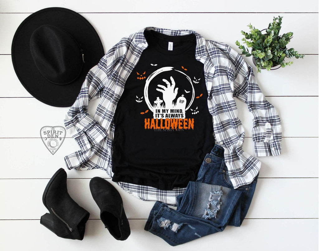 In My Mind It's Always Halloween T-Shirt