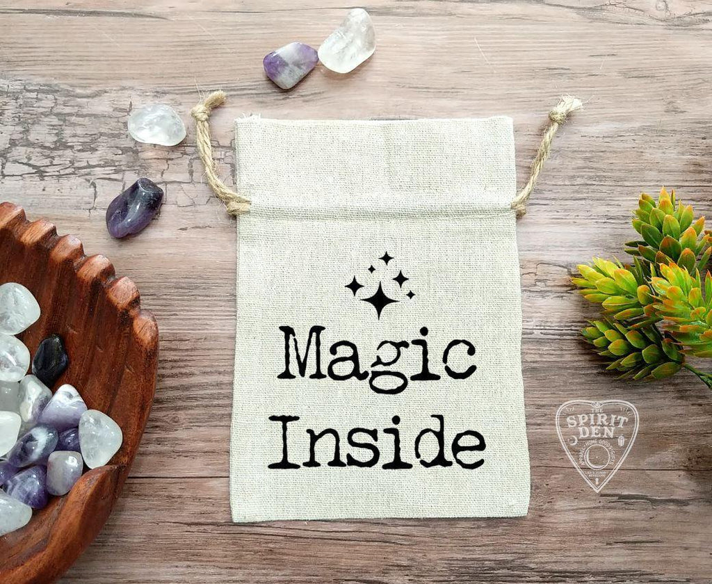 Magic Inside Cotton Linen Deck Bag