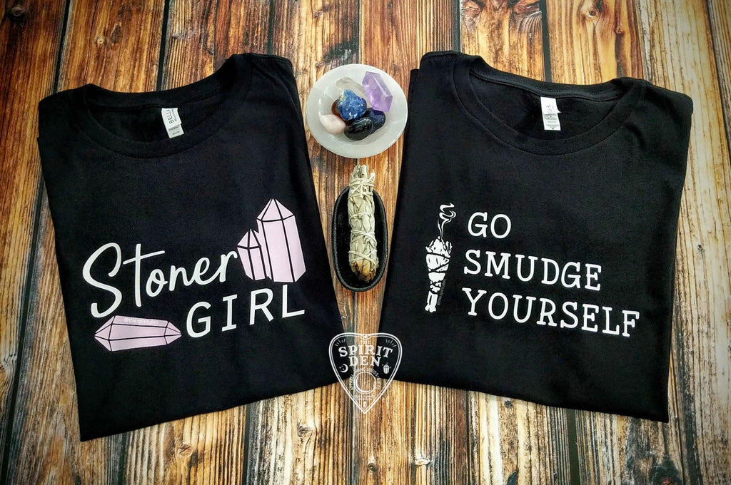 Go Smudge Yourself Sage Bundle T-Shirt Extended Sizes