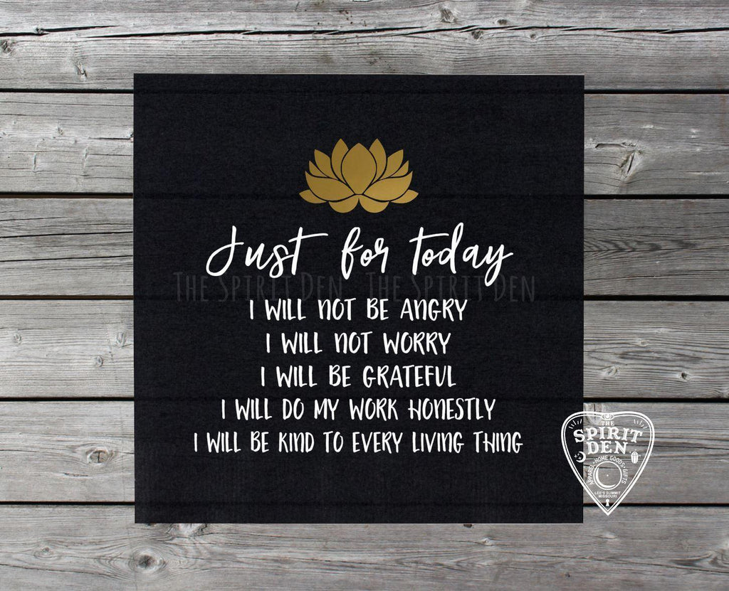 Reiki Principles Altar Cloth | Reiki Cloth