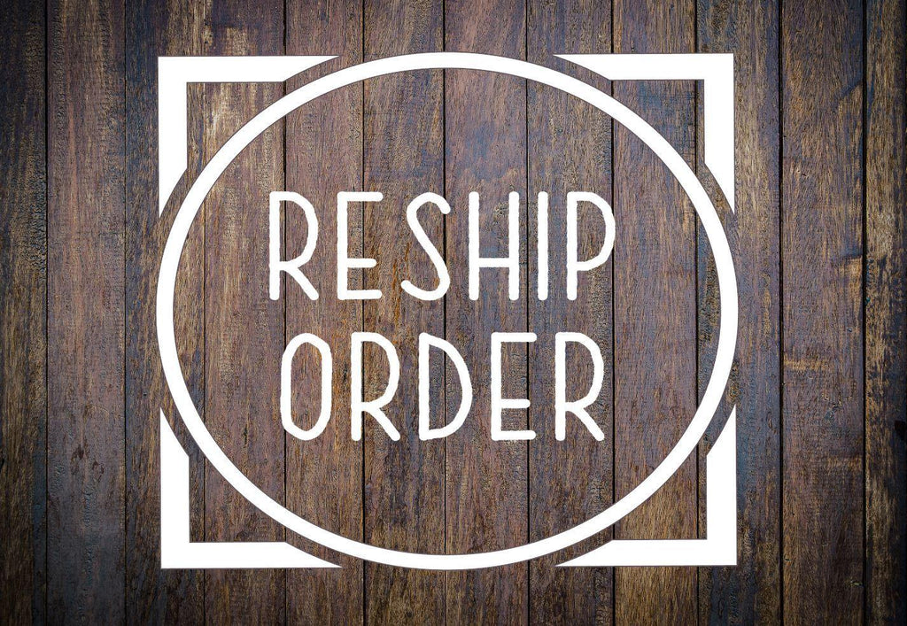 Re-Ship Undeliverable Order #3819 - The Spirit Den