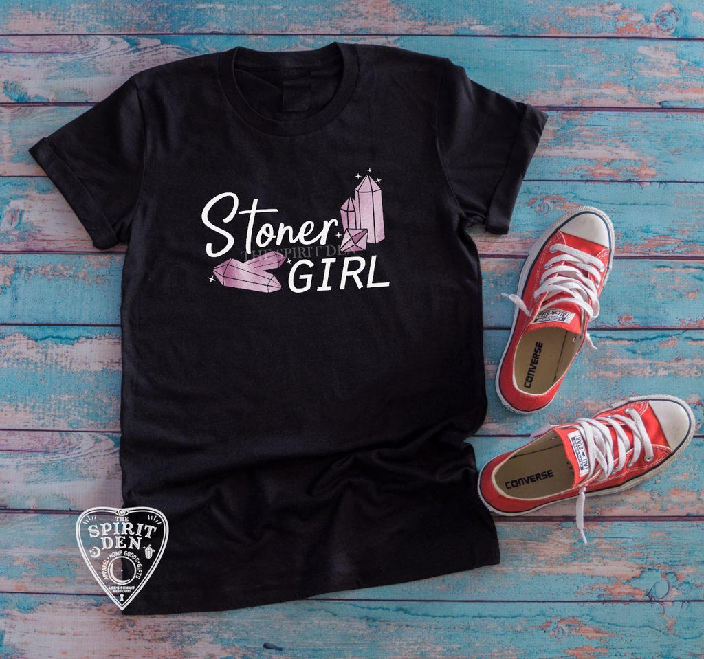 Stoner Girl Crystals T-Shirt