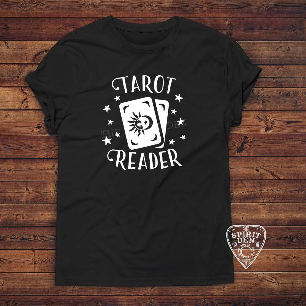 Tarot Reader T-Shirt Extended Sizes - The Spirit Den