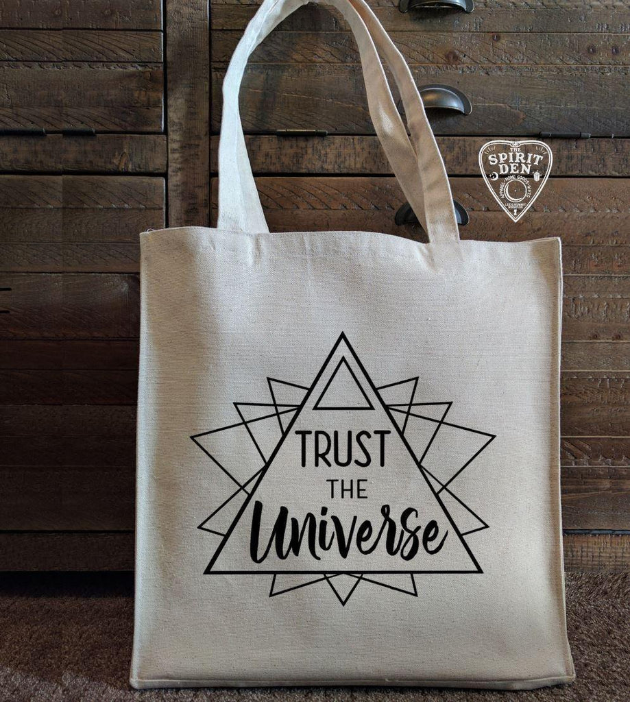 Trust The Universe Cotton Canvas Market Bag