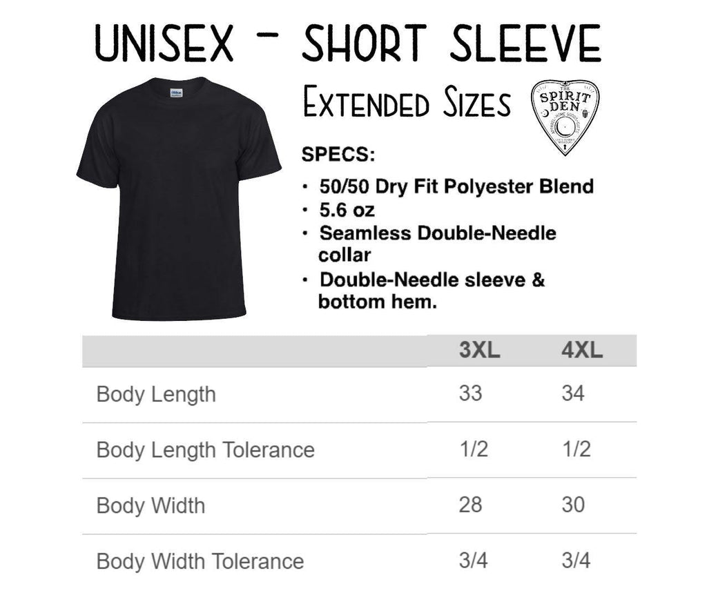 Always Carry Protection Crystal T-Shirt Extended Sizes