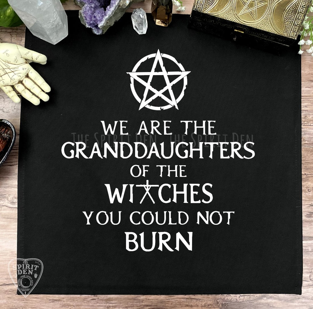 We Are The Granddaughters of The Witches You Could Not Burn Altar Cloth