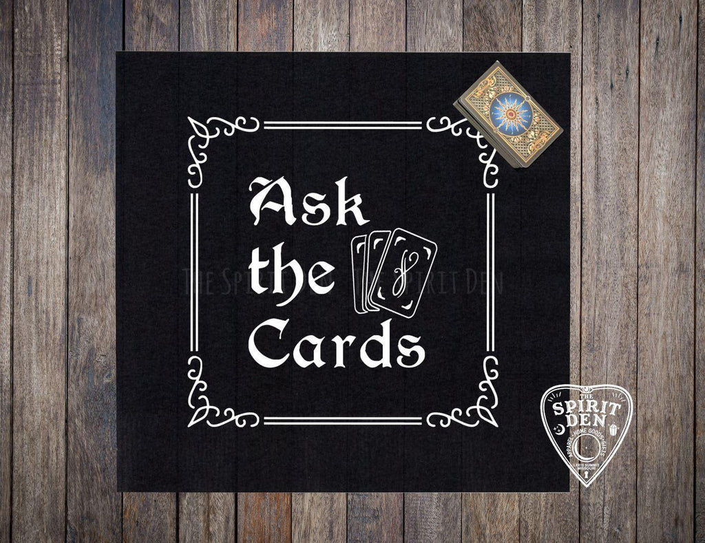 Ask The Cards Altar | Tarot Cloth