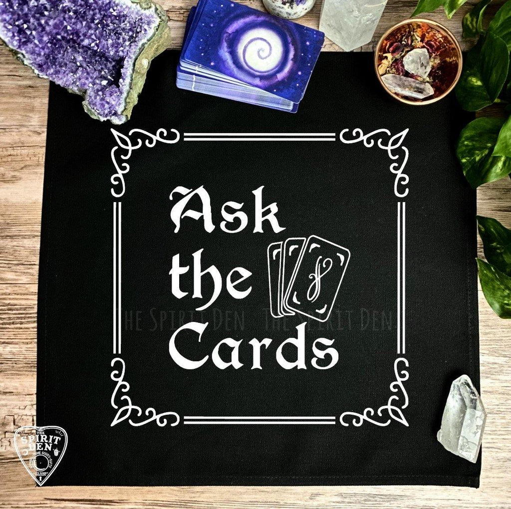 Ask The Cards Altar | Tarot Cloth - The Spirit Den