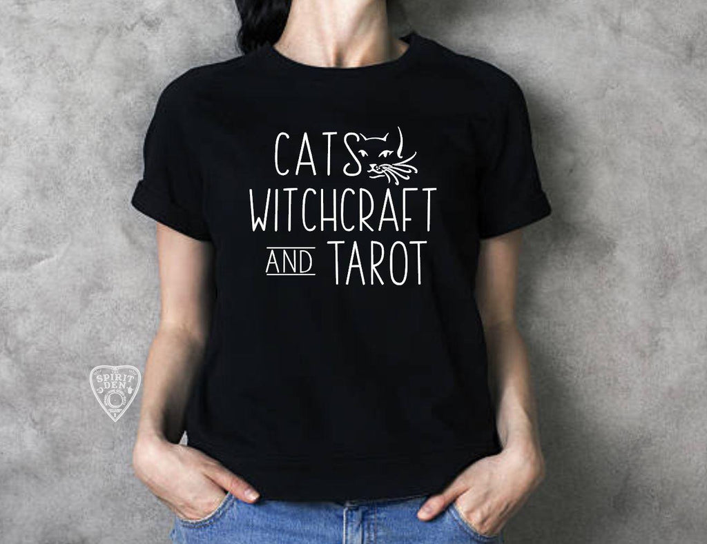 Cats Witchcraft and Tarot T-Shirt