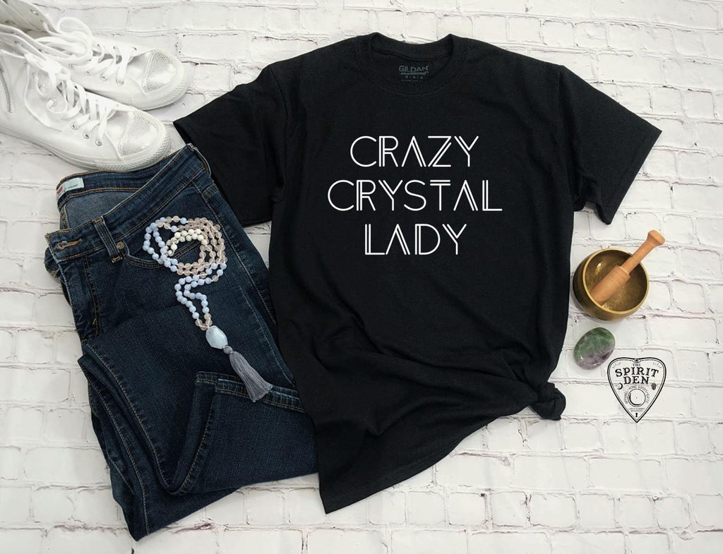 Crazy Crystal Lady T-Shirt